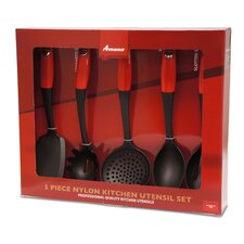 5 Piece Kitchen Utensil Set
