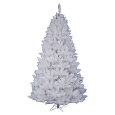 Crystal White Spruce 4.5' Artificial Christmas Tree with Stand