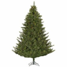 Modesto 7.5' Green Artificial Christmas Tree with 750 LED White Lights