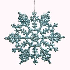 Glitter Snowflake Ornament (Set of 24)