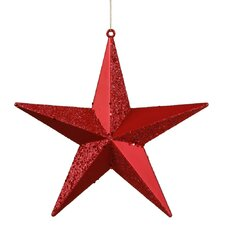 Star Glitter Ornament