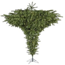 Douglas Fir 7.5' Green Fir Artificial Christmas Tree with 650 LED White Lights with Stand