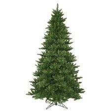 Camdon Fir 9.5' Green Artificial Christmas Tree with Unlit with Stand
