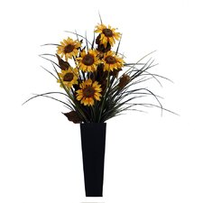 Floral Sunflower in Containe