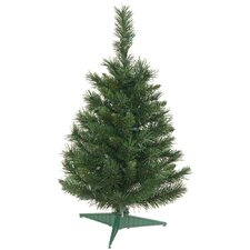 Imperial Pine 2' Green Artificial Christmas Tree with Stand