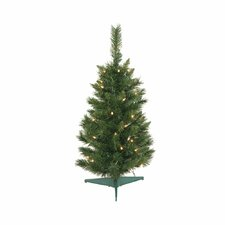 Imperial Pine 2.5' Green Artificial Christmas Tree with Stand