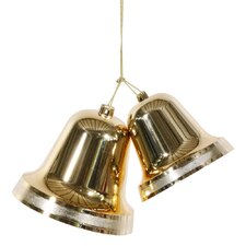 Assorted Shape Shiny Double Bell