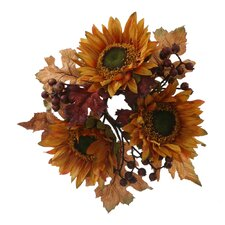 Sunflower Berry Wreath