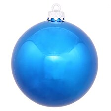 Shiny UV Drilled Cap Ornament