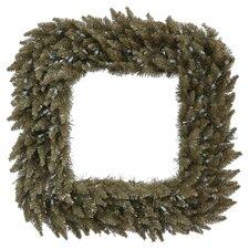 Fir Square Wreath