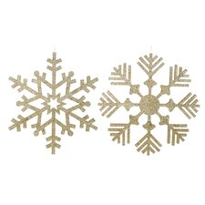 Snowflake Glitter Assorted Ornament