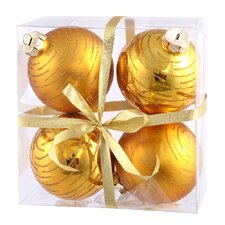 Assorted Ball Ornament (Set of 4)