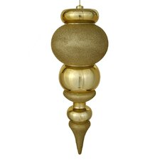 Shiny Finial Shatterproof Ornament