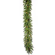 Cheyenne Pine 50' Cheyenne Garland with 350 Clear Lights