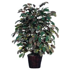 <strong>Vickerman Co.</strong> Deluxe Artificial Potted Natural Apple Tree in Basket