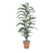 Deluxe Areca Palm Tree in Metal Pot