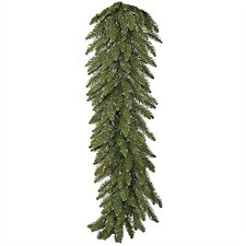 9' Prelit Camdon Fir Garland with Clear Lights