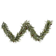 <strong>Vickerman Co.</strong> Cedar Pine Cone Garland with 50 Lights