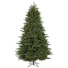<strong>Vickerman Co.</strong> Majestic 7' Green Frasier Artificial Christmas Tree with Stand