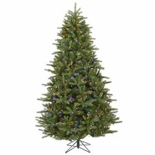 <strong>Vickerman Co.</strong> Majestic 7' Green Frasier Christmas Tree with 950 LED Lights Multi with Stand