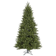 Bradford 7.5' Green Pine Artificial Christmas Tree with Stand