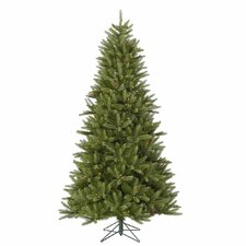 Bradford 7.5' Green Pine Artificial Christmas Tree with 550 LED Multicolor Lights with Stand