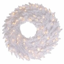 Fir Wreath with 70 Lights