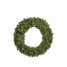 <strong>Vickerman Co.</strong> Grand Teton Wreath with 200 Dura-Lit Lights