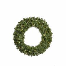 Grand Teton Wreath with 400 LED Lights