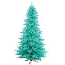 7.5' Aqua Fir Artificial Christmas Tree with 750 Mini Lights