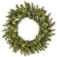 Jack Pine Wreath with 50 Dura-Lit Lights