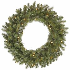 <strong>Vickerman Co.</strong> Colorado Wreath with 50 Dura-Lit Lights