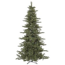 Austrian 7.5' Green Fir Slim Artificial Christmas Tree with Stand