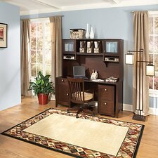 Grand Expressions Americana Home Office Suite in Warm Molasses Finish