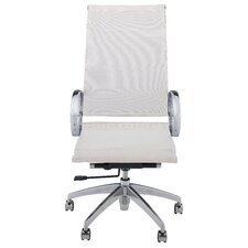 <strong>kathy ireland Office by Bush</strong> New York Skyline High Back Mesh Executive Chair