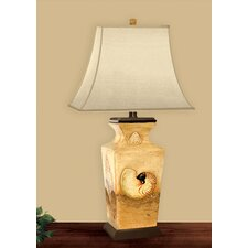 <strong>JB Hirsch Home Decor</strong> Four Sided Shell Table Lamp