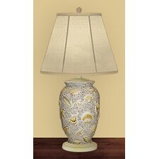 "Shells Ashore 26"" H Table Lamp with Empire Shade"