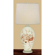 <strong>JB Hirsch Home Decor</strong> Coral and Shells Table Lamp