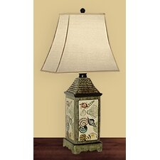 Shell Collection Table Lamp
