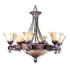 <strong>JB Hirsch Home Decor</strong> Seville 6 Light Chandelier