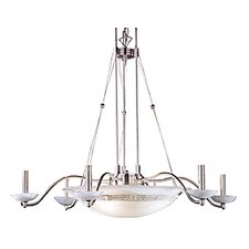 <strong>JB Hirsch Home Decor</strong> Battery Park 10 Light Chandelier