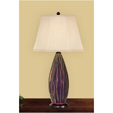 <strong>JB Hirsch Home Decor</strong> Serenity Wine Bottle Table Lamp