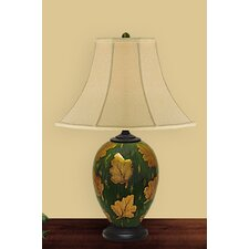 <strong>JB Hirsch Home Decor</strong> Autumn Leaf Table Lamp