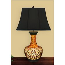 "Egg Shell Urn 32"" H Table Lamp  with Empire Shade"