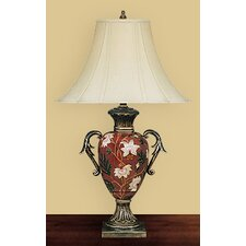 <strong>JB Hirsch Home Decor</strong> Flower Vase Table Lamp