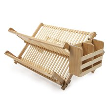 <strong>Core Bamboo</strong> Dish Rack with Utensil Holder