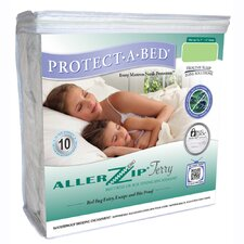 <strong>Protect-A-Bed</strong> Aller Zip Cotton Anti-Allergy and Bed Bug Proof Mattress Encasement