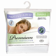 Preimum Pillow Protector  in White