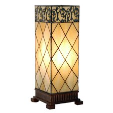 44cm Tiffany 1 Light Candlelight Filigrees Large Table Lamp