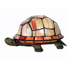 10cm Tiffany 1 Light Turtle Table Lamp